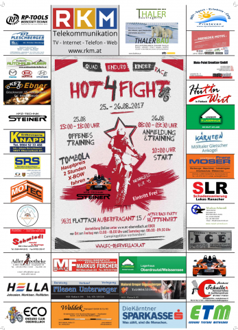 Hot4Fight Plakat